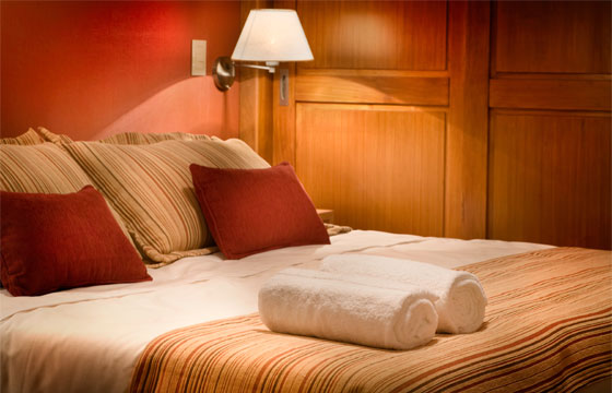 San Martín de los Andes downtown provides great high end accomodations, with the advantage of having everything handy.