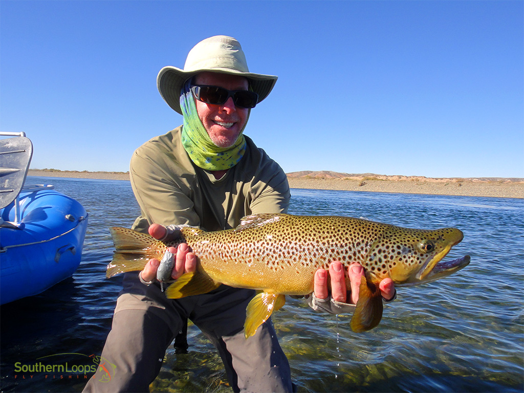 Limay Medio River - SouthernLoops Fly Fishing - Patagonia Argentina