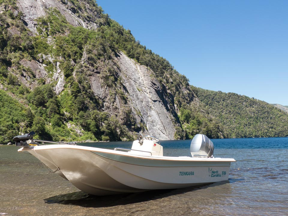 Our lake boat is provided with minnkota electric motor and a 90 hp Yamaha motor.
