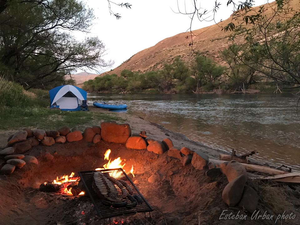 Far from noise and crowds, Southernloops fly fishing camps offer high end accomodations.
