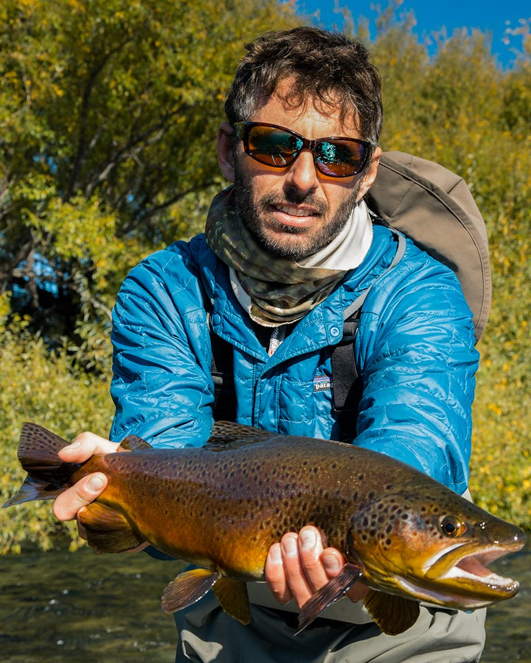 Esteban Urban, owner and head guide at SouthernLoops Fly Fishing