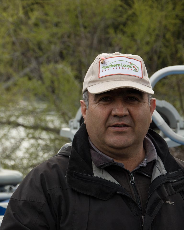 Fausto, our logistics manager.